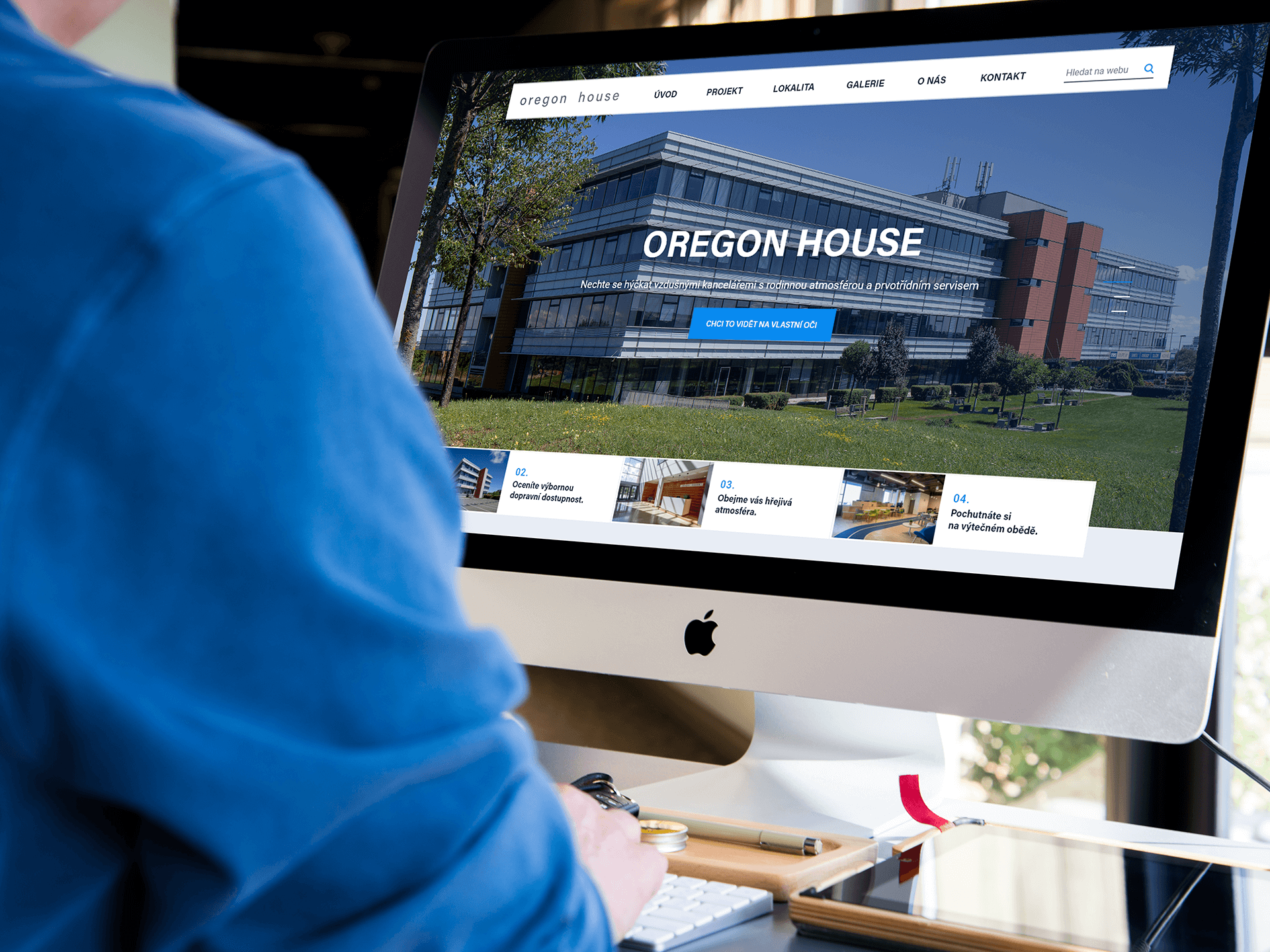 Webdesign Oregon House