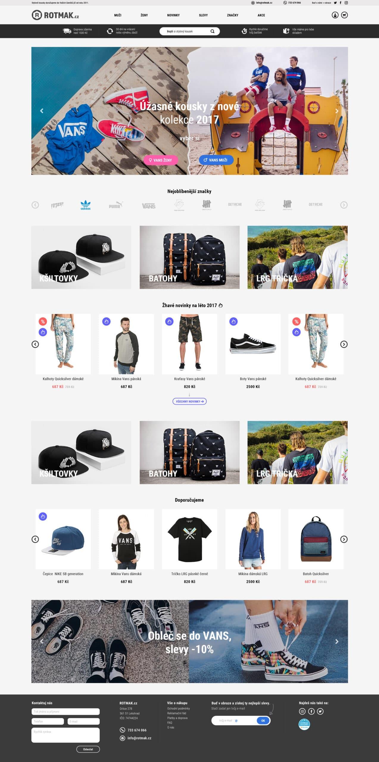 reference e-shopu se skate modou